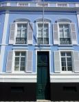 Blue Door in the Azores