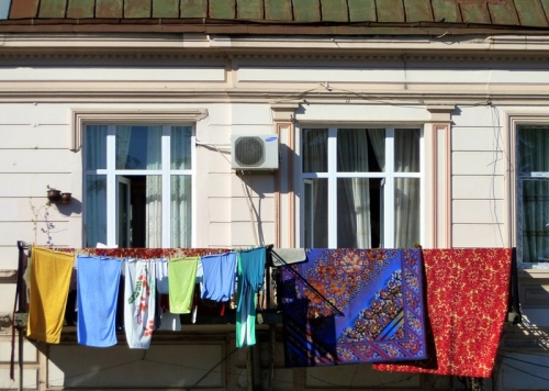 Doing Laundry in Batumi