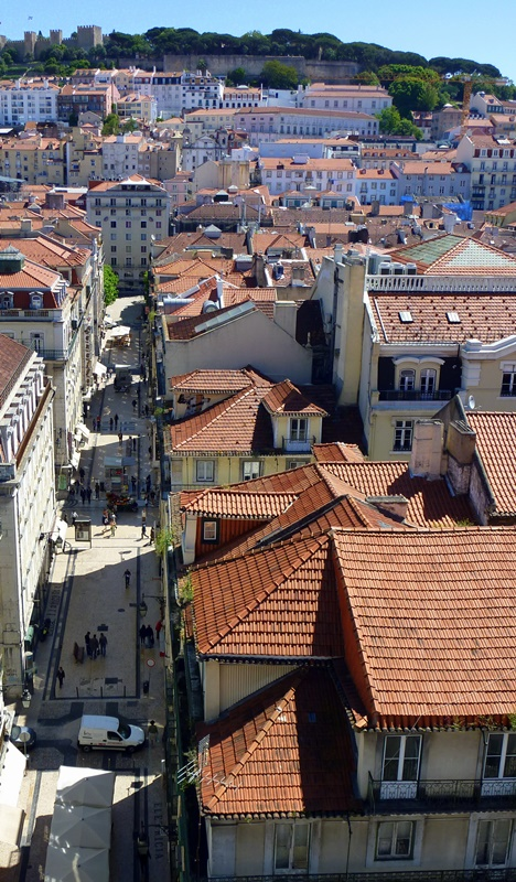 Tiled Roofs of Lisbon