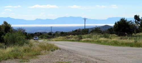Looking Out Upon the Tularosa Basin and White Sands
