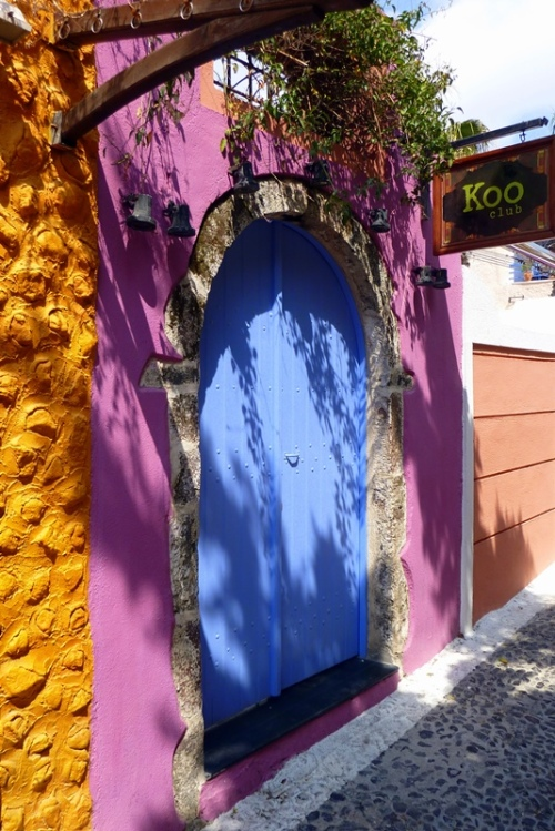 Colorful Santorini