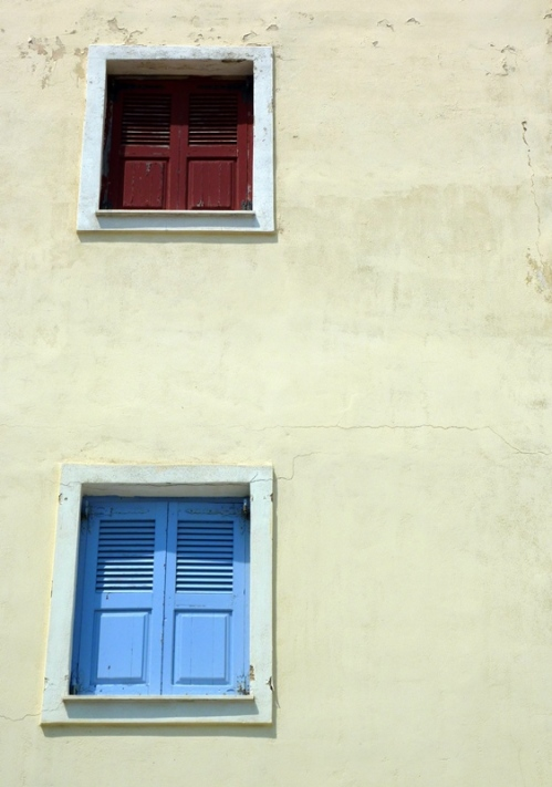 Santorini Window Shutters