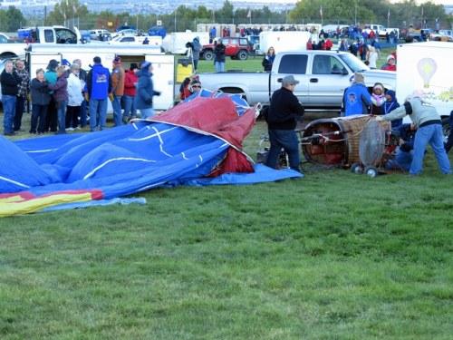 Inflating a Non-Congressional Hot Air Balloon