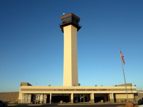 An Airport Traffic Control (ATC) Tower