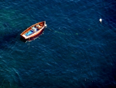 Boating on Amalfi Blue