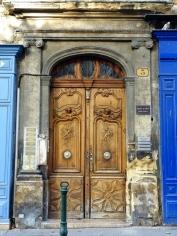 Door Framed in Blue