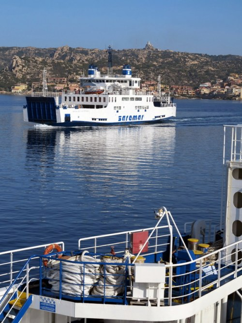 Ferry to Maddalena