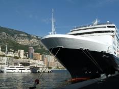 MS Ryndam in Port in Monaco