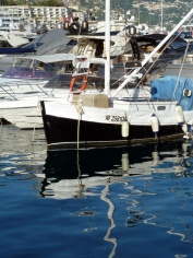 Reflections in Monaco Harbor