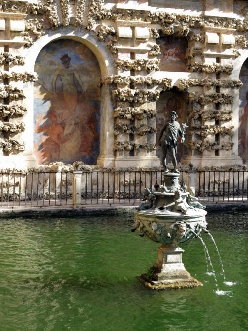 Main Pool in the Alcázar Gardens