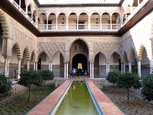 Courtyard of the Maidens
