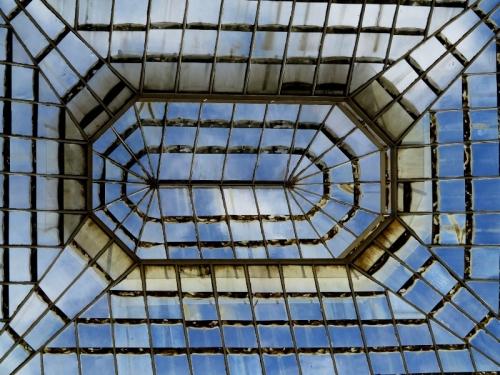 Inside Alcázar — That's One Big Skylight