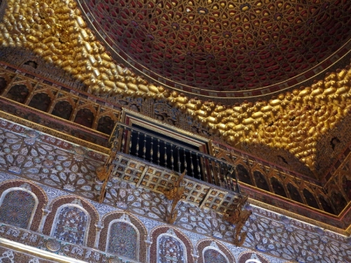 Balcony inside the Hall of the Ambassadors