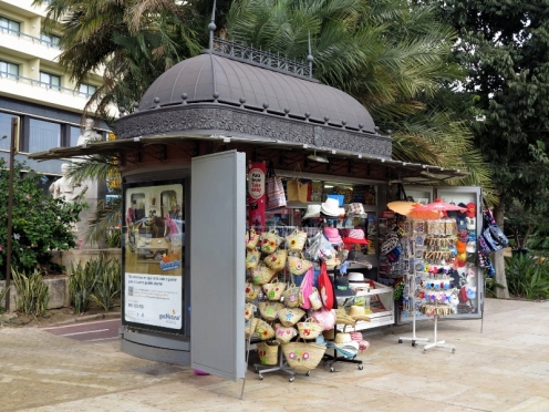Málaga Kiosk — A Fixture throughout Europe
