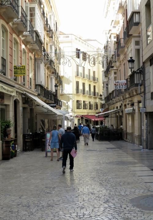 Málaga Street Scene