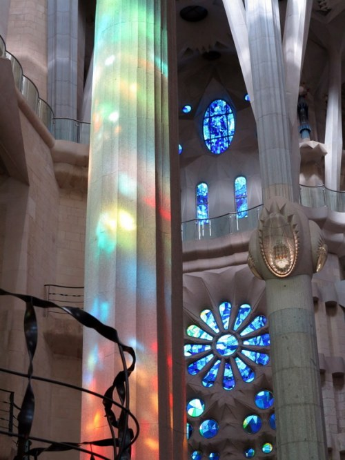 Stained Glass Playing More Light Tricks