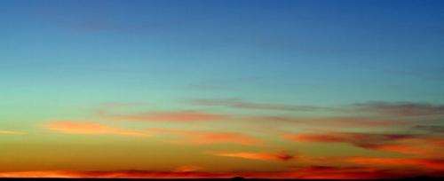 December Skies El Paso