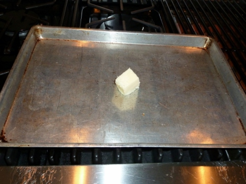 Heating a Baking Pan