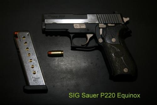 SIG P220 Equinox