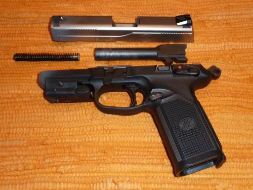 Disassembled FNH FNX-45