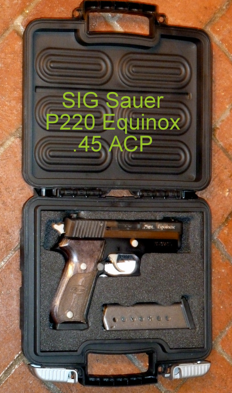 Complete SIG P220 Equinox Kit