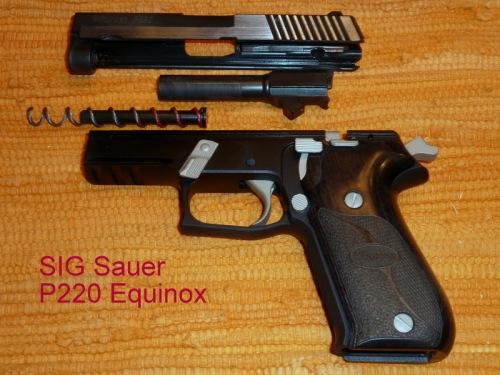 SIG SauerP220 Equinox