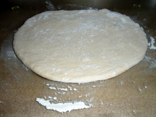Roll Dough to ½-Inch