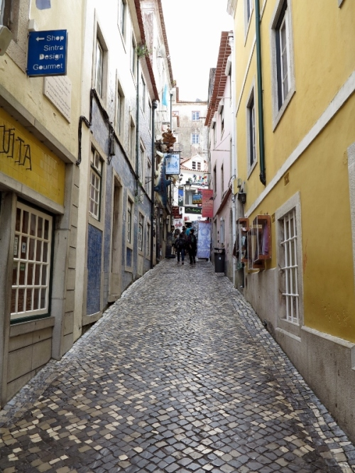 A Charming Sintra Street Scene