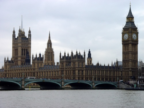 Westminster Bridge, Westminster Palace, and Big Ben