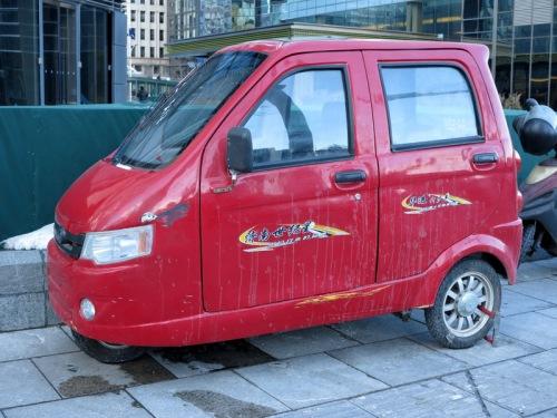 Three-Wheeling Beijing-Style