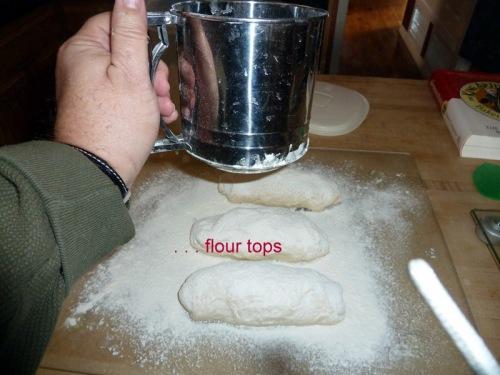 Flour tops