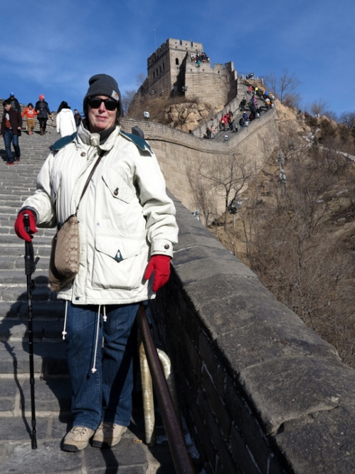The Great Ursula on the Great Wall