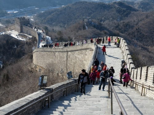 The Great Crowd on the Great Wall