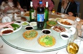 Traditional Lazy Susan-style Dining