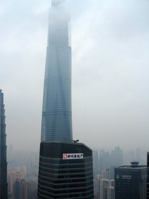 Shanghai Tower — World's 2nd tallest building