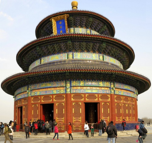 Hall of Prayer for Good Harvests at the Temple of Heaven