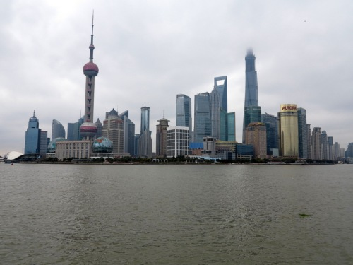Pudong as seen from the Bund