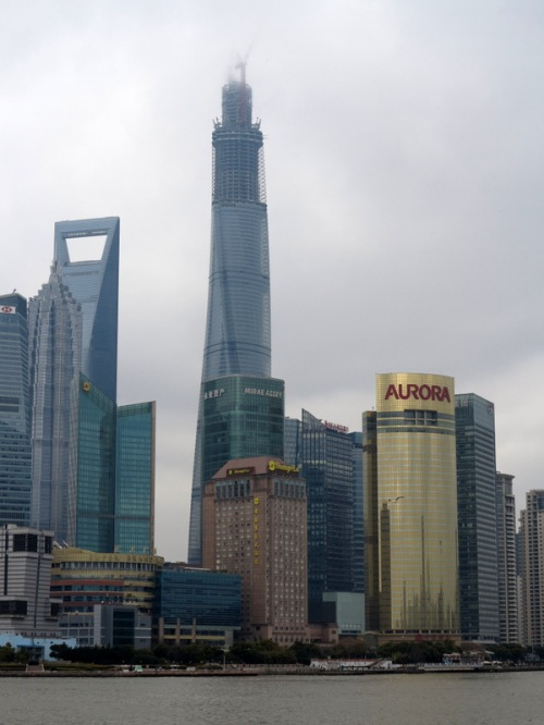 Shanghai Tower — Tallest building in China and 2nd tallest on Earth