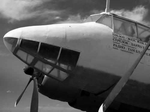 Tupolev Study in Black & White