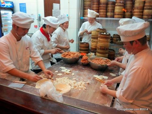 Dim Sum Chefs at Work