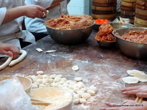 Preparing Dim Sum