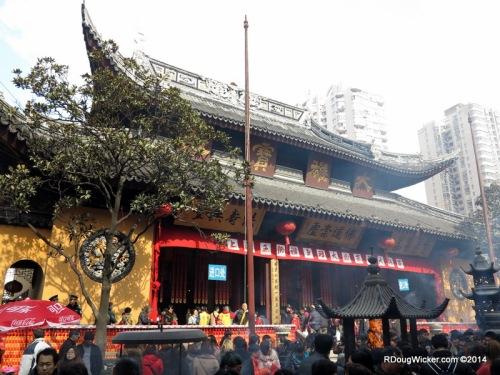 Hazy Temple Grounds