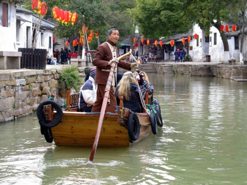 Gondoliering in Tongli