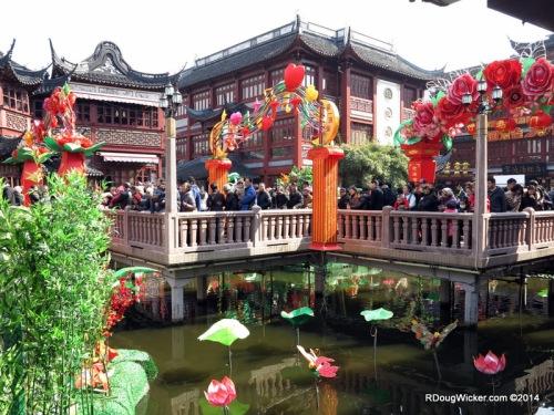 Yuyuan Garden at City God Temple
