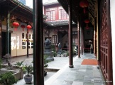 Courtyard at the Jade Buddha Temple