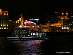 More cruise traffic on the Huangpu River