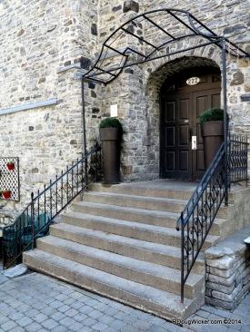 Neat Steps to Old Door