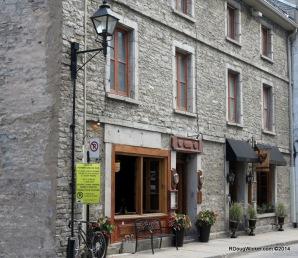 Old Montreal street scene