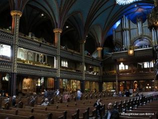 Looking back toward the organ