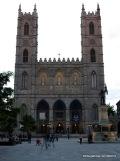 Notre-Dame after sunset